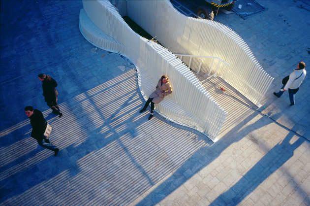 Ira Koers, Up-Stairs (2000-2006). © Jeroen Musch