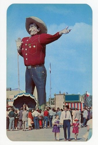 "TX Dallas ""Big Tex"" at The Texas State Fair Grounds   eBay"