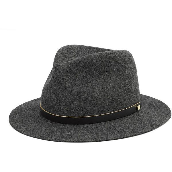 Rag & Bone Packable Abbott Fedora (3.125 ARS) ❤ liked on Polyvore featuring accessories, hats, designers, home, rag & bone, rag & bone accessories, women's, travel hat, rag bone hat and brim fedora hat
