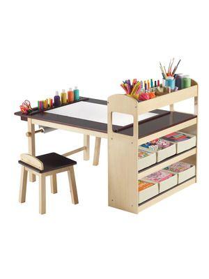 Guidecraft Deluxe Art CenterIdeas, Kids Stuff, For Kids, Kids Room, Crafts Tables, Deluxe Art, Kids Art, Art Tables, Art Center