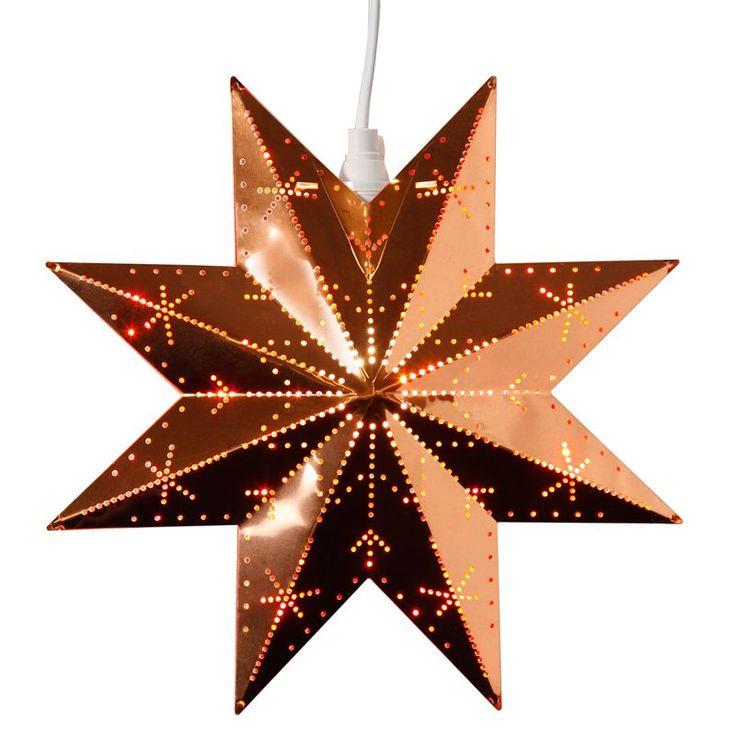 Star Trading Classic Koppar 28Cm Metallstjärna