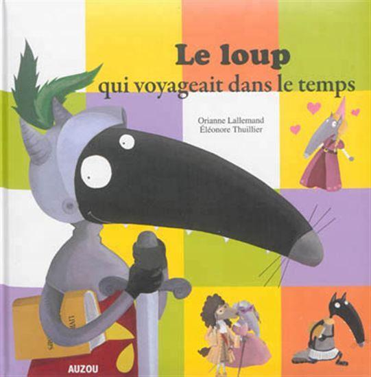 Loup découvre un livre magique dans son grenier qui permet de voyager dans le temps. Ainsi va-t-il traverser les époques, des dinosaures à Jules César.