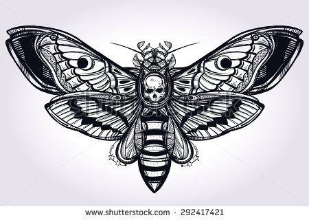 moth tattoo - Поиск в Google