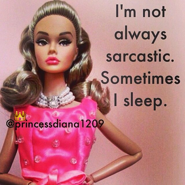 Me?! Sarcastic?? I have no idea what you're talking about!