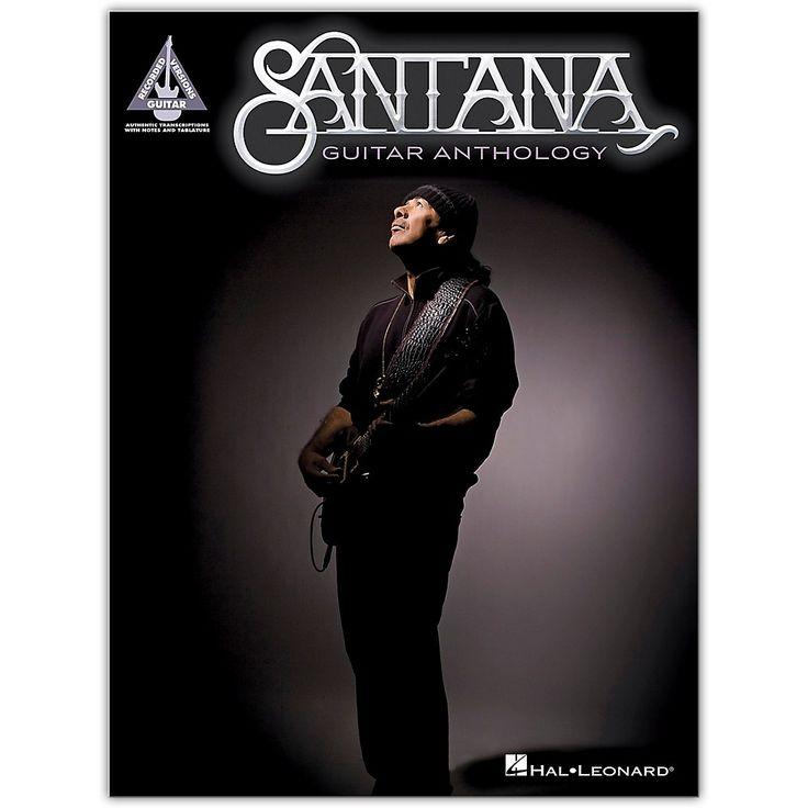 Hal Leonard Santana Guitar Anthology Performed by Santana
