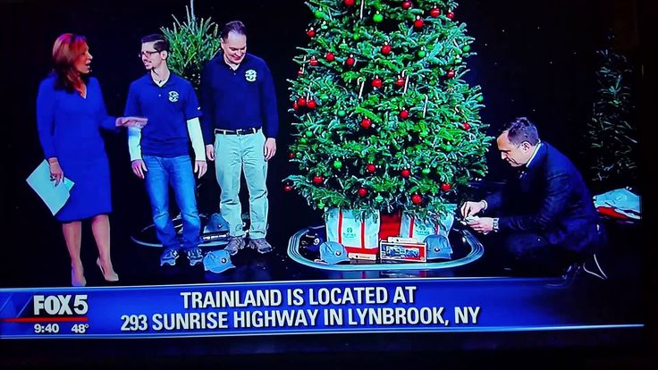 TrainWorld / TrainLand On Good Day New York With Rosanna Scotto And Greg...
