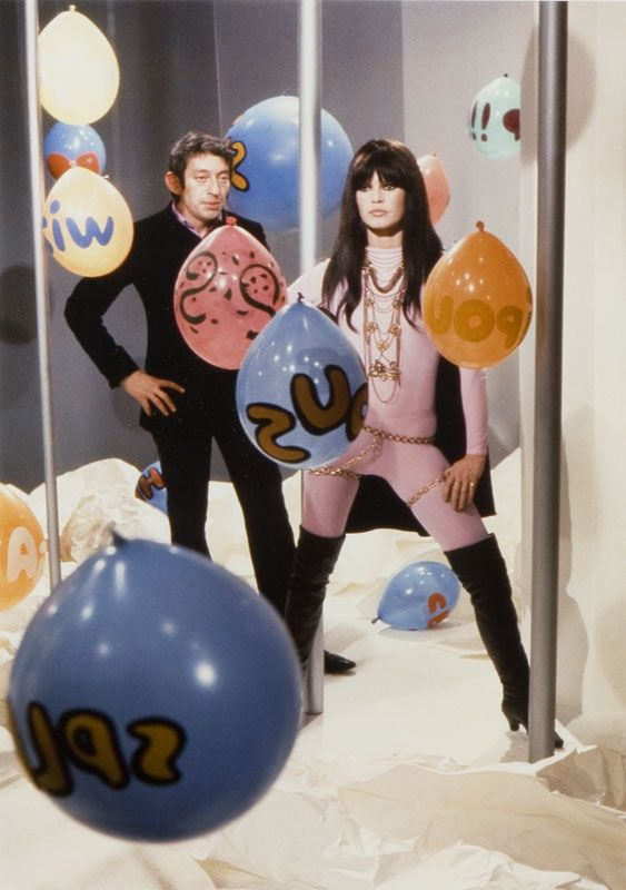"Brigitte Bardot & Serge Gainsbourg shooting the ""Comic Strip"" music video (1967)"