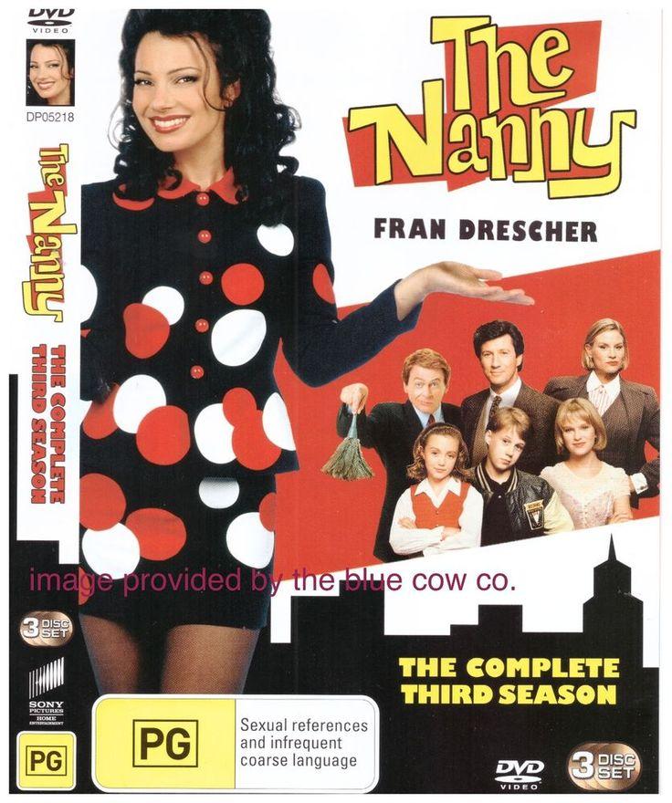 The Nanny Season 3 DVD R4 Three Disc Set Fran Drescher