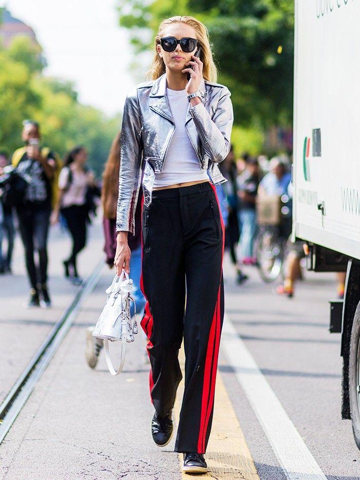 23 Jaw-Dropping Street Style Looks From Milan Fashion Week via @WhoWhatWearUK