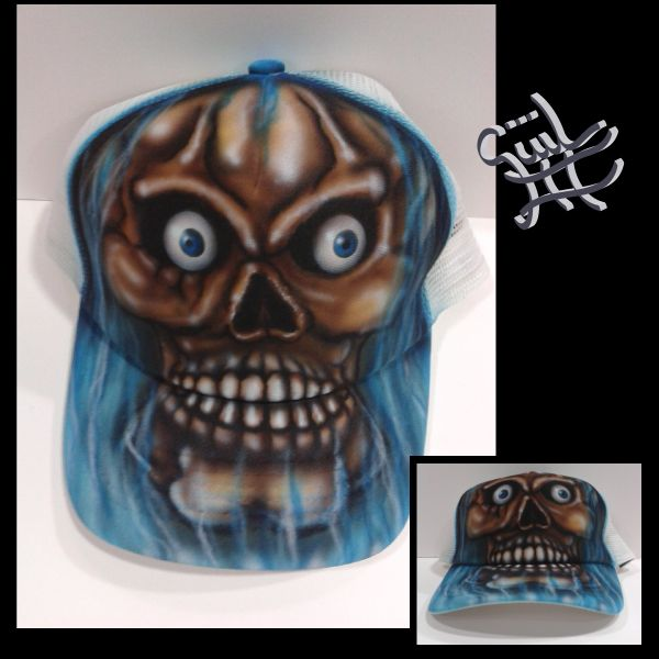 #draw #dibujo #arte #paint #gorratrucker #customcap #aerografia #airbrush #handmade #hechoamano #art #artwork #güiliii