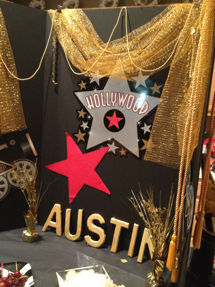 hollywood party theme for reagans sweet 16 next - Hollywood Party Decorations