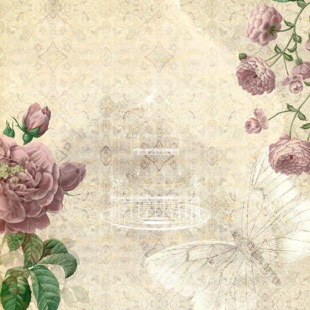 Vintage Floral Background Antecedentes Hermosa Ramas Png Y Psd Para Descargar Gratis En 2020 Arte Clip De Epoca Flores De Epoca Y Texturas Vintage