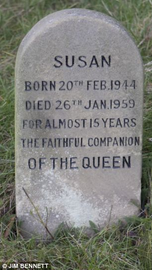 The Queen is known to be inseparable from her beloved Corgis. Now poignant pictures have emerged of the graves of royal pets from throughout the generations. The little-known plot is hidden away in a quiet corner of the 20,000-acre Sandringham estate in Norfolk. It was created by Queen Victoria after the death of her Collie, Noble, in 1887, and revived in 1959 when Elizabeth II wanted somewhere to bury her first Corgi, Susan.