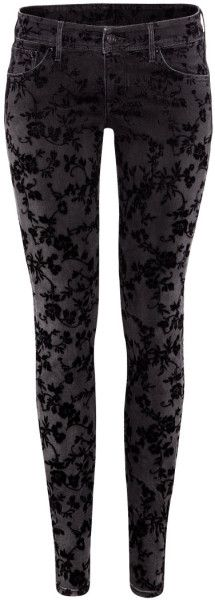 H&m Black Super Skinny Low Jeans