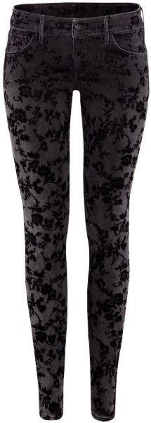H&m Black Super Skinny Low Jeans