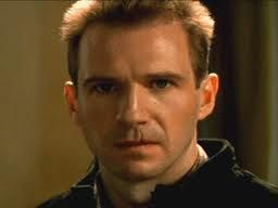 Ralph Fiennes is the story board model for 19 year old soldier Ben Taylor in YA novel The Bird With The Broken Wing. Ben wears khaki pants and shirt, and camel desert boots. Ben always has a sad puppy dog face.