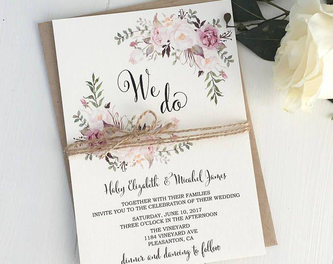 Wedding Invitation Ideas Pinterest: 100+ Wedding Invitations Ideas Pinterest
