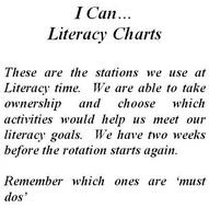 Based on Debbie Diller's 'I Can...' charts, these are 16 of the Literacy stations we used for gr 5: Poster Ideas, Teaching Ideas, School Ideas, 5Th Grade, Literacy Station, Station Ideas, Kid
