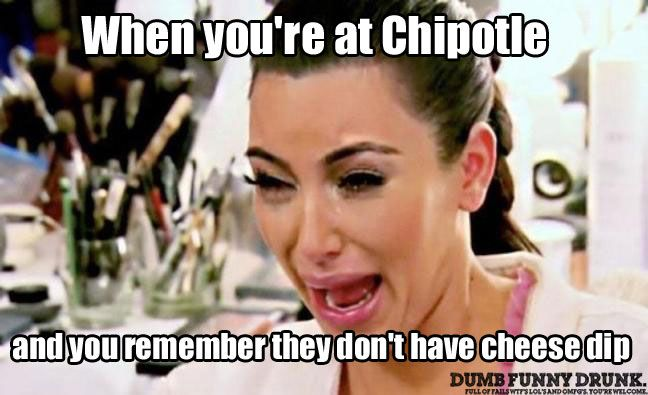 When You're At Chipotle… #funny
