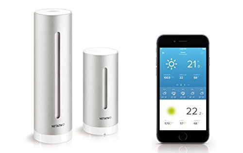 Netatmo Station Météo pour Smartphone: La nouvelle génération de stations météo Entièrement pilotable depuis votre Smartphone, Tablette ou…