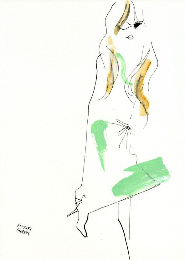 """Clemence Poesy: Glamour UK, February '12"" サングラスをかけたクレマンス・ポエジーがとってもお茶目。笑顔がチャーミング☆"