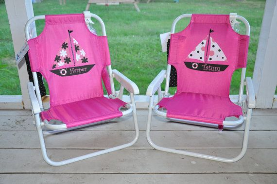 Hey, I found this really awesome Etsy listing at https://www.etsy.com/listing/151647314/personalized-childs-beach-chair-with