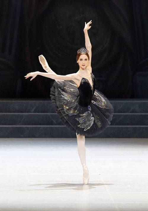 adayofballet:  Svetlana Zakharova as Odile in Nureyev's Swan Lake in Vienna Photo by Vienna State Opera/Michael Pöhn