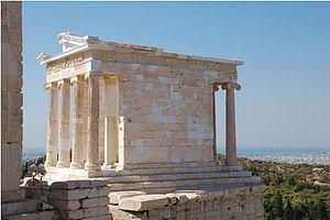 Temple of Athena Nike - Wikipedia