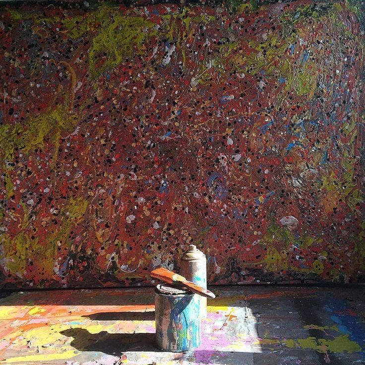 #sunny London  #painting #studio #art #hackneywick #london by agustinciarfaglia