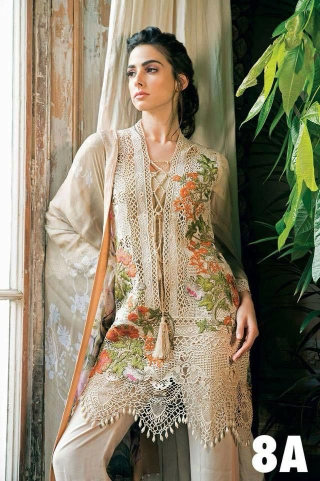 361eba8d77 Original outfit by Sobia Nazir Spring Summer Lawn Collection 2018 Three  piece embroidered lawn suit stitched
