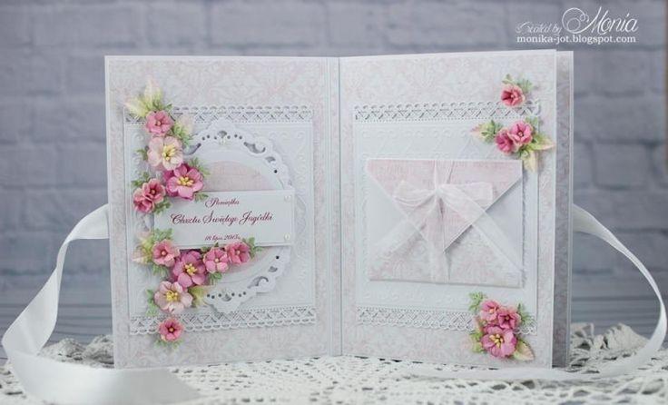 Card - album for baptism - inside