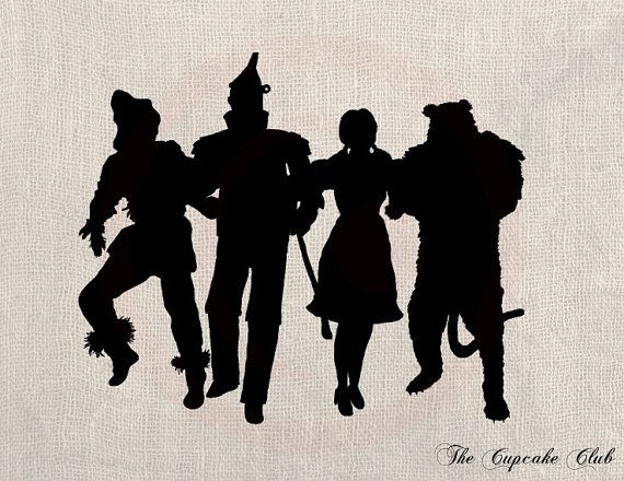 Wizard Of Oz Wall Decal 30 X 20 By LynchmobGraphics On Etsy Part 95