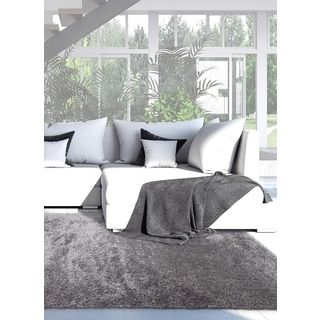Shop for ecarpetgallery Labrador Gray Shag (3'10 x 5'7). Get free shipping at Overstock.com - Your Online Home Decor Outlet Store! Get 5% in rewards with Club O!