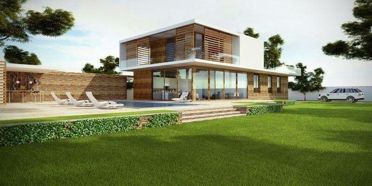 Soroma Homes in Ghana, building this contemporary home. www.soromahomes.com