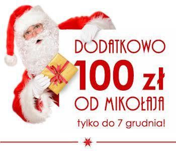 Tylko do 7 grudnia: Projekty domów z rabatem 100 zł od Mikołaja!