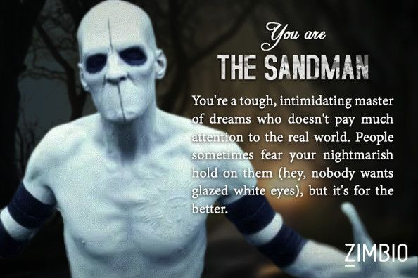 The Sandman Which sleepy hollow character are you?