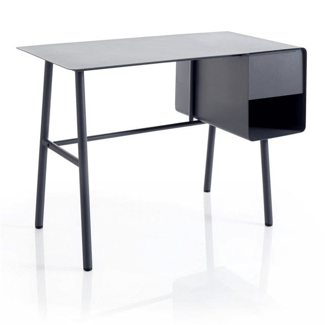 desk / Bureau Steel | via La Redoute
