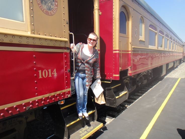 The obligatory photo of getting onto the Napa Valley Wine Train.  We visited a lot of wineries on this trip but it was great fun on the train, sit back and enjoy the view. California 2011