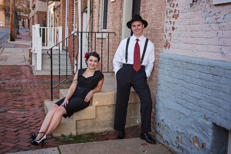 Frederick Maryland Pin Up Themed Engagement Session By Kathleen Hertel Photography Www Kathleenhertel