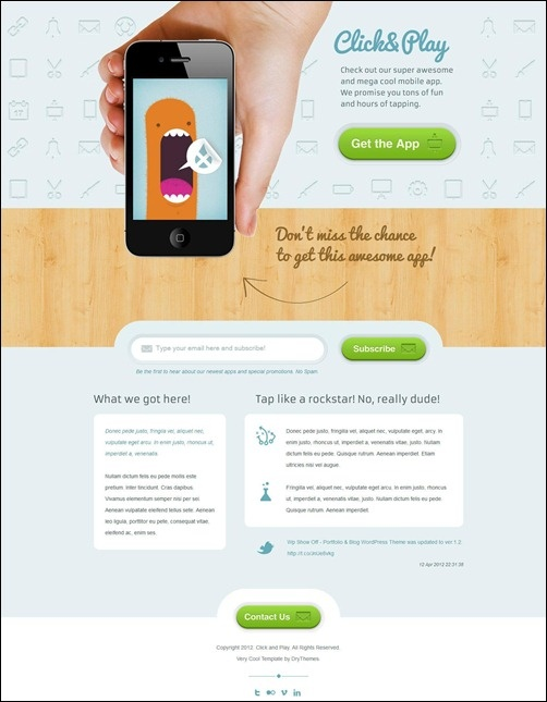 Mejores 18 imgenes de marketing infographics en pinterest sample landing page malvernweather Choice Image