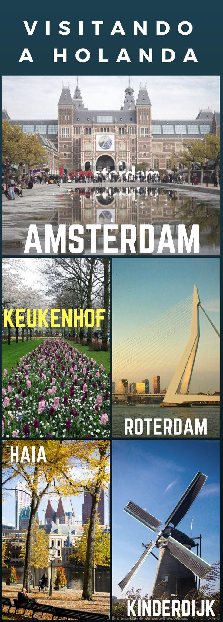 A Holanda é linda e tem tantos locais bacanas para visitar! Quer algumas dicas?