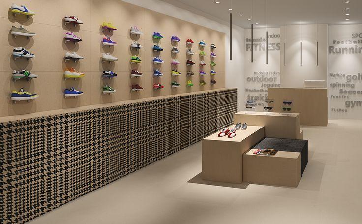 Shoes Store - Miseria e Nobilità collection #Ornamenta #Houndstooth