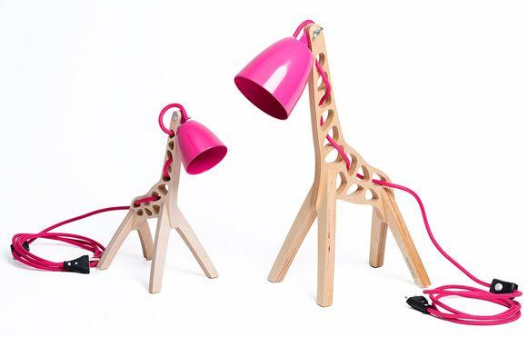 Luminária de girafa – Bem Legaus