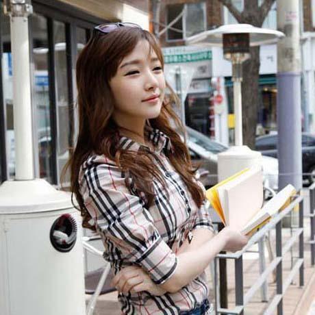 Wholesale Shirt Design - Buy 2013 New Popular Office Design Lady Casual Blouses Size S-2XL Good Quality Korean Women Career OL Plaid D515, $15.28 | DHgate
