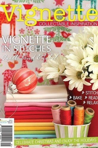 """""""Vignette - Issue 9"""" designed by Leanne Beasley for Leanne's House."""