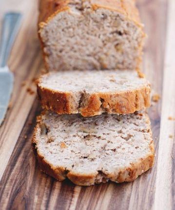 Que tal deixar o prato mais saud�vel com um p�o de banana com farinha de arroz, livre da prote�na? Confira a receita e deixe sua tarde mais gostosa: - Veja mais em: http://www.vilamulher.com.br/receitas/paes-e-pizzas/pao-de-banana-sem-gluten-3408.html?pinterest-mat