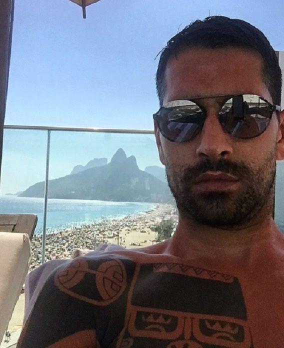 Marco Borriello beccato con una modella sudamericana? L'indizio!