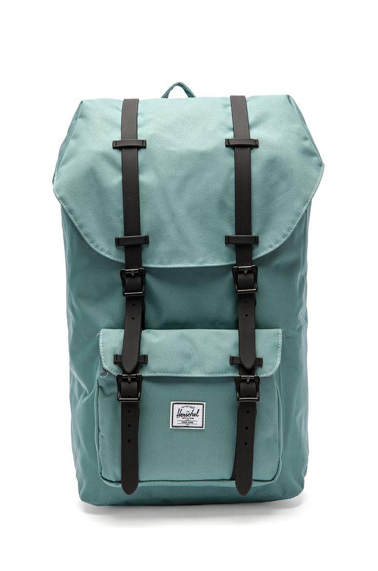 Herschel Supply Co. Little American Backpack in Seafoam & Black