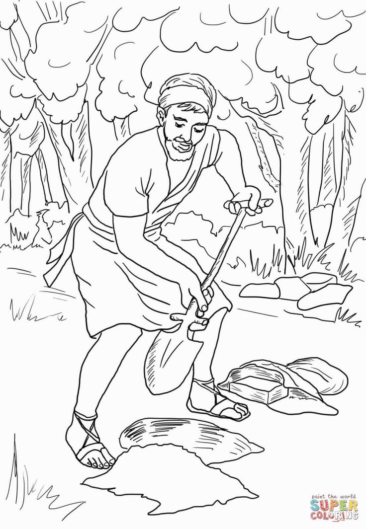 parables coloring pages - photo#10