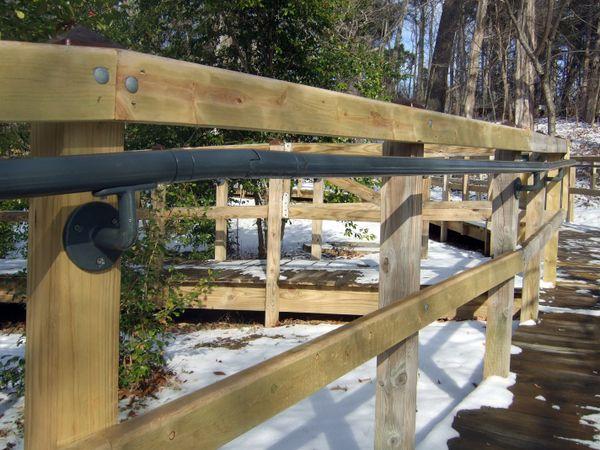 Best Wall Mounted Ada Railing Stone Wall Handrails Railing 400 x 300